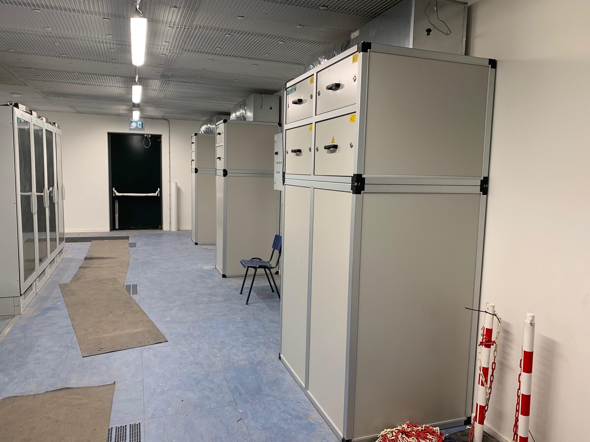 Serverruimte Koeling met PCM Units